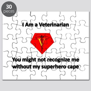 veterinarian superhero Puzzle