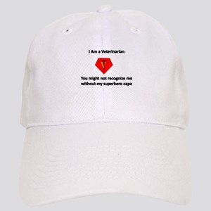 veterinarian superhero Baseball Cap