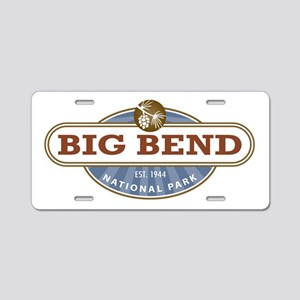 Big Bend National Park Aluminum License Plate