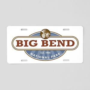 Big Bend National Park Aluminum License Plate