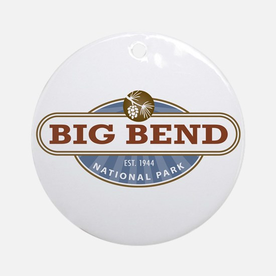 Big Bend National Park Ornament (Round)