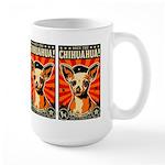 Obey the Chihuahua! Large Propaganda Mug