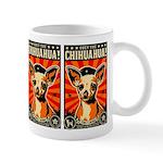 Obey the Chihuahua! Revolution coffee mug
