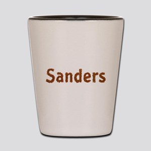 Sanders Fall Leaves Shot Glass