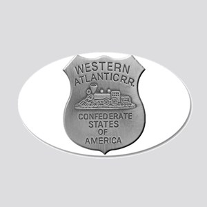 Western Atlantic Railroad Wall Decal