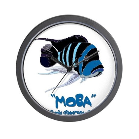 Moba Logo Wall Clock