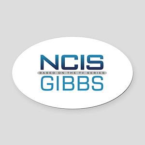 NCIS Logo Gibbs Oval Car Magnet