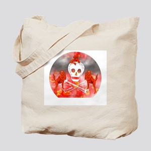 Devils & Skull Tote Bag