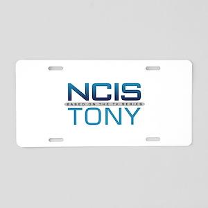 NCIS Logo Tony Aluminum License Plate