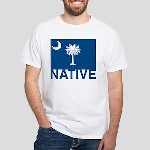 South Carolina Native White T-Shirt