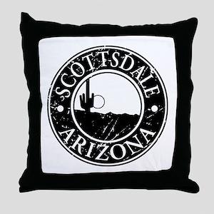 Scottsdale, AZ Throw Pillow