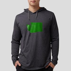 Green Washington Long Sleeve T-Shirt