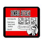 Zombie Advice Mousepad