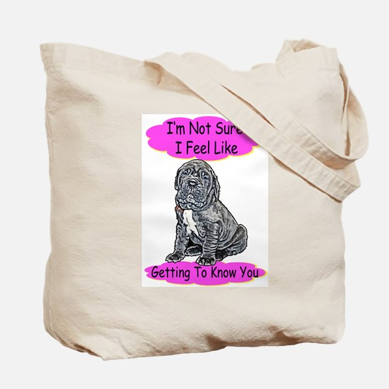 """""""I Don't Even Know You Anymore"""" Tote Bag"""