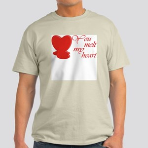 You Melt My Heart Light T-Shirt