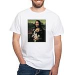 Rat Terrier White T-Shirt