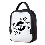 Halloween Bats Neoprene Lunch Bag