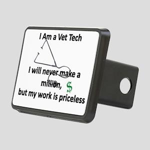 vet tech priceless Hitch Cover