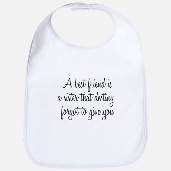 Best Friend Bib