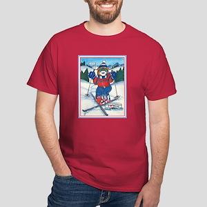 Skiing Section Dark T-Shirt