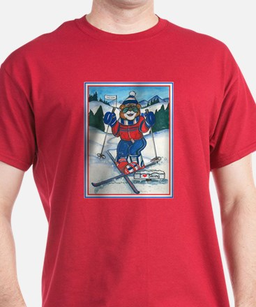 Skiing Section T-Shirt