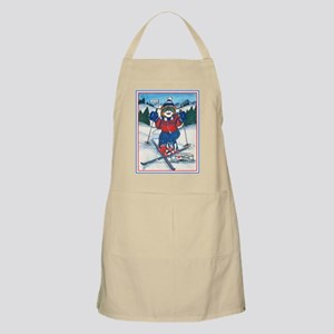 Skiing Section BBQ Apron
