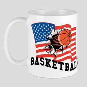 American Basketball Mug