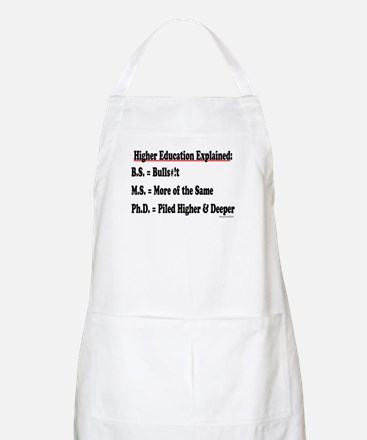 Higher Education BBQ Apron