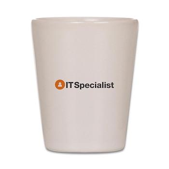 IT Specialist Shot Glass