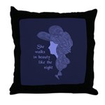 In Beauty Throw Pillow
