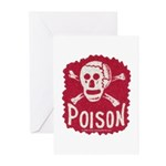 POISON! Greeting Cards (Pk of 10)