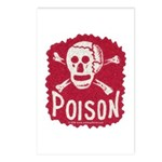 POISON! Postcards (Package of 8)