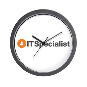 IT Specialist Wall Clock