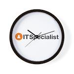 IT Specialist Wall Clock