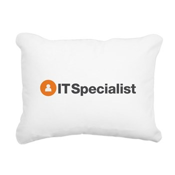 IT Specialist Rectangular Canvas Pillow