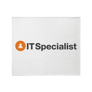 IT Specialist Throw Blanket