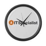IT Specialist Large Wall Clock