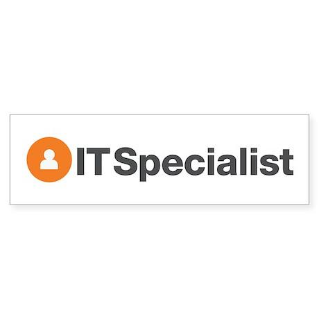 IT Specialist Bumper Sticker