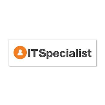 IT Specialist Car Magnet 10 x 3