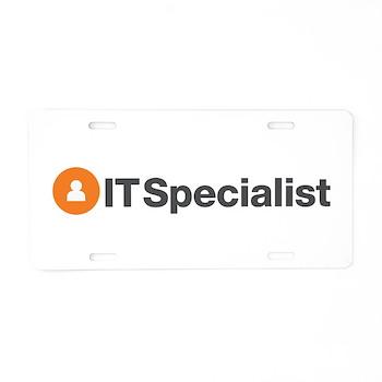 IT Specialist Aluminum License Plate