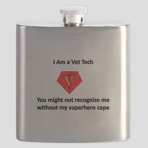 vet tech superhero Flask