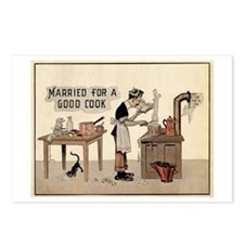 Married For A Good Cook Postcards (Package of 8)