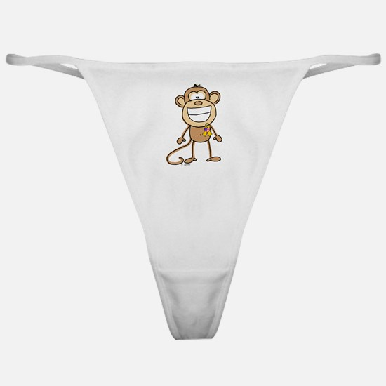 Support Our Troops Monkey Classic Thong