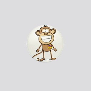 Support Our Troops Monkey Mini Button