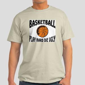 Funny Basketball Ash Grey T-Shirt