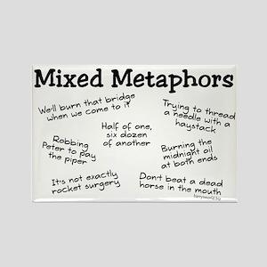 Mixed Metaphors Rectangle Magnet (10 pack)