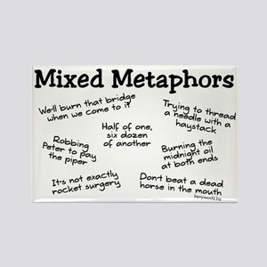 Mixed Metaphors Rectangle Magnet