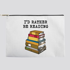 Rather Be Reading Makeup Pouch