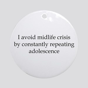 Repeating Adolescence Ornament (Round)