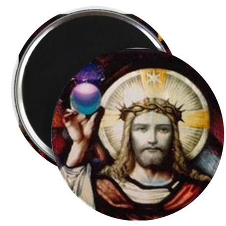 "NEW Cosmic Christ 2.25"" Magnet (10 pack)"